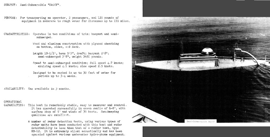 CIA Water/Air Division 1958 - Covert Shores