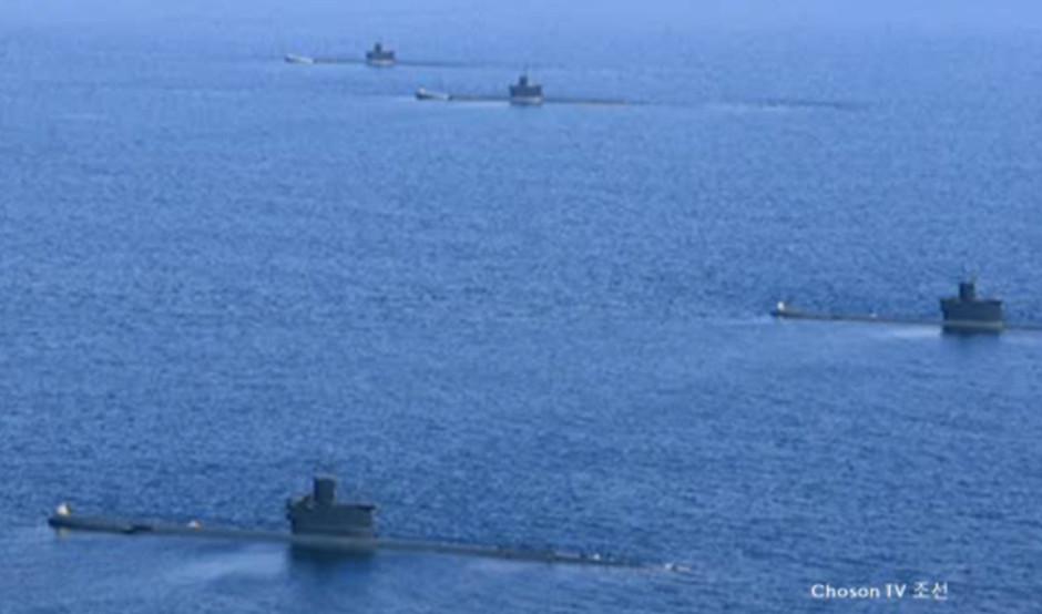 North Korean Navy's submarine capabilities