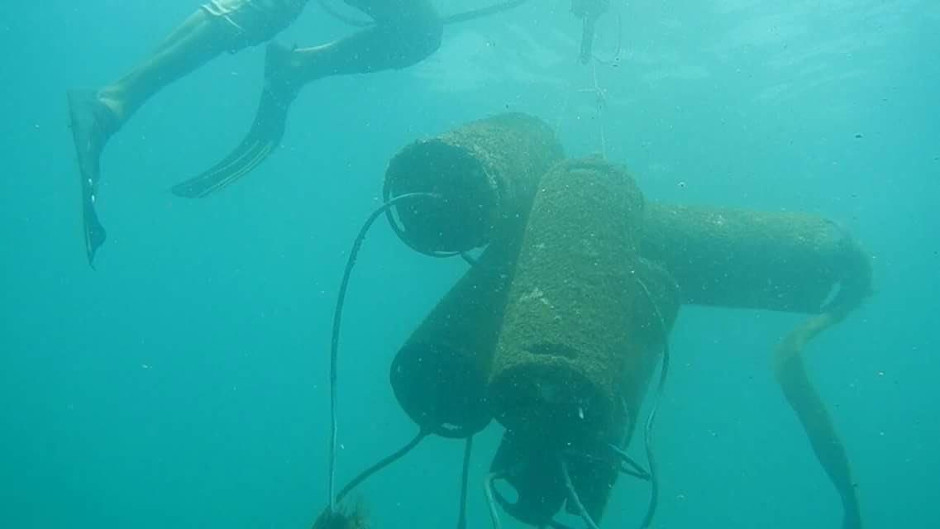 Improvised Sea Mine from AQAP