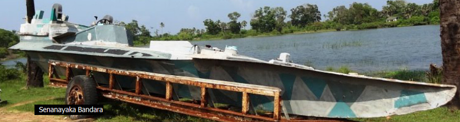 LTTE Tamil Tigers Sea Tigers homemade explosive boats