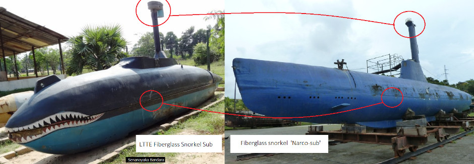 LTTE Tamil Tigers Sea Tigers homemade submarine