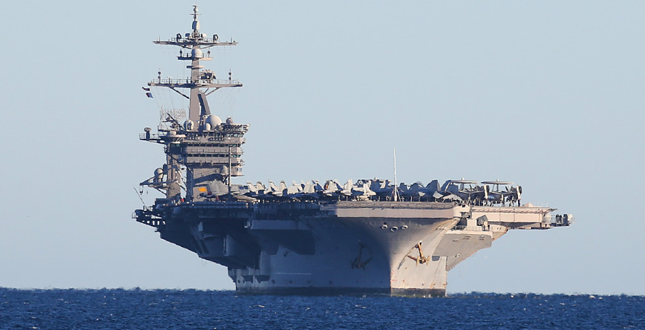 North Korean Navy threat to USS Carl Vinson's Strike Group