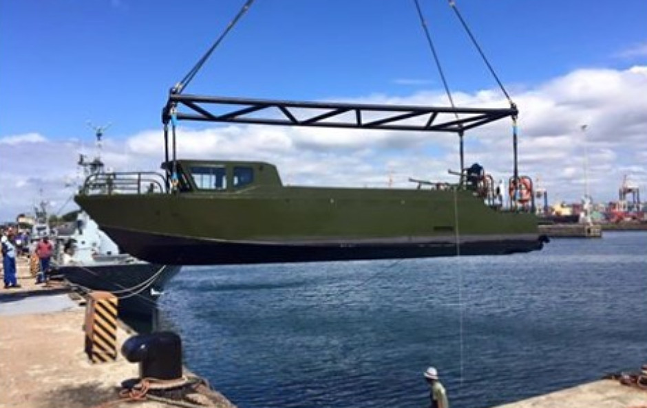 South African Rivrine Assault Boat