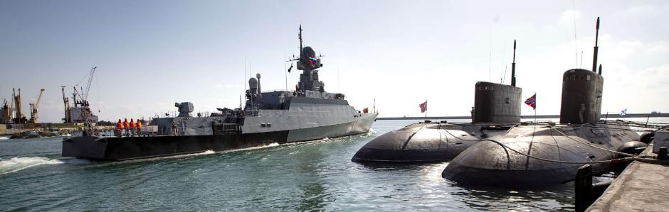Russian Navy base in Tartus, Syria