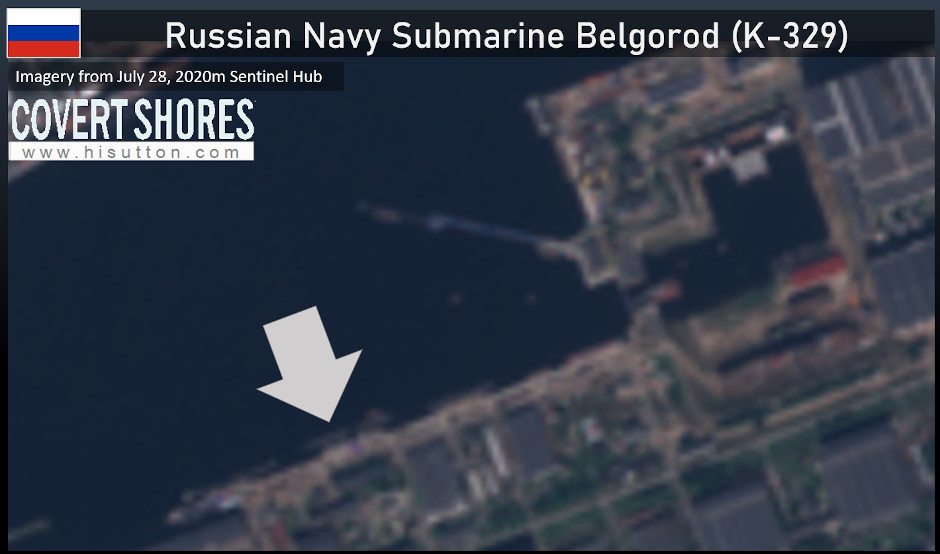 Russian Navy Submarine Belgorod - Covert Shores