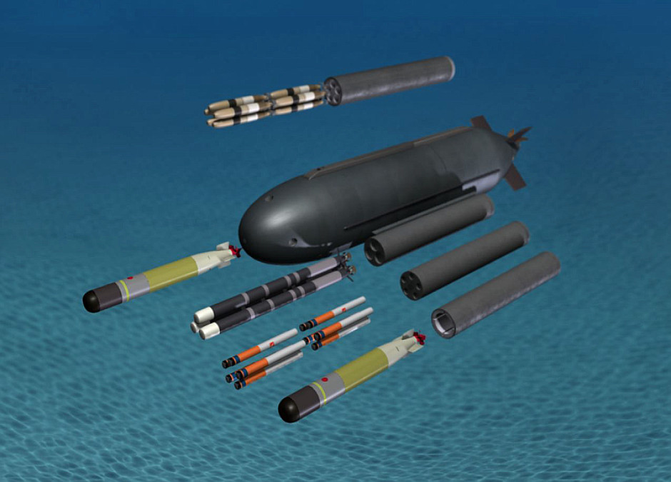 US Navy Shallow Water Submarine - Covert Shores