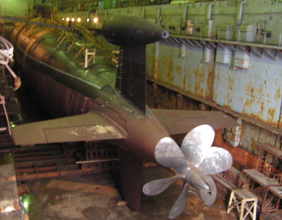 """الغواصات النووية الهجومية..للبحرية السوفييتية .""""الجزء الاول """" SIERRA_Prop"""