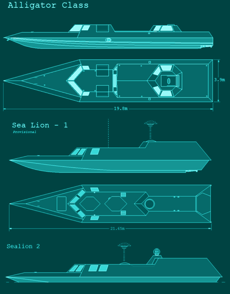 Special forces semi-submarine