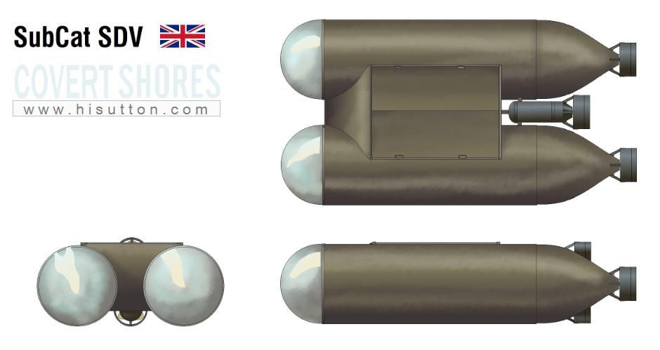 British midget sub design data much