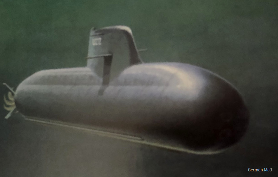 Type-212A submarine - Covert Shores