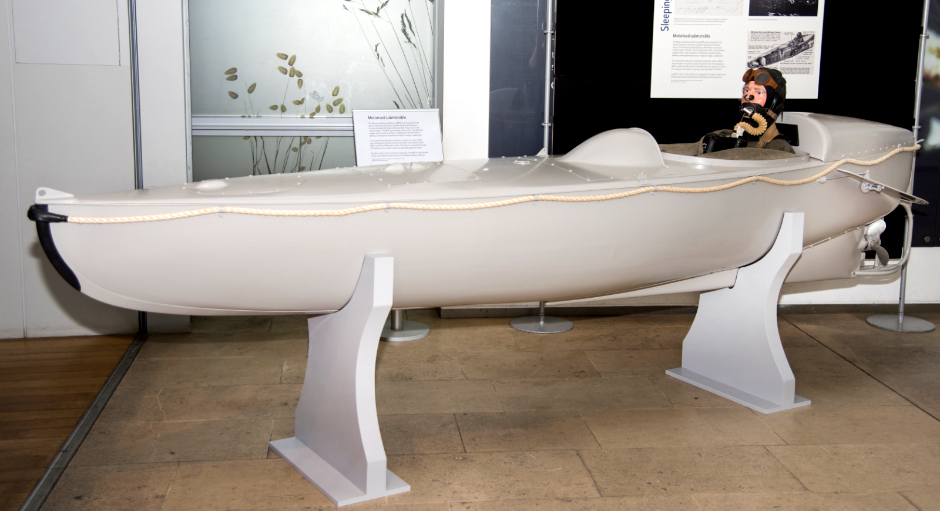 Sleeping Beauty MSC Motorised Submersible Canoe