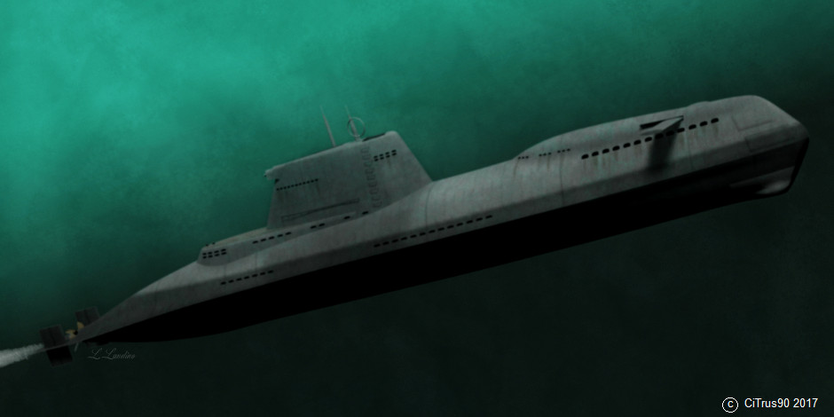 Type-XXIX-H stealth U-boat - Covert Shores